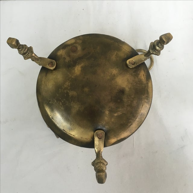 Antique French Brass Champagne Bucket - Image 5 of 5