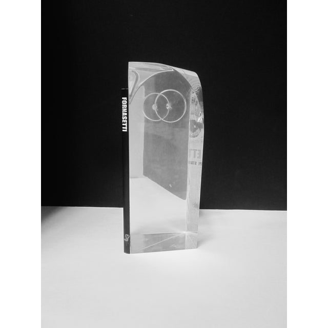 Guzzini Attri. Modernist Lucite Owl Sculpture - Image 4 of 10