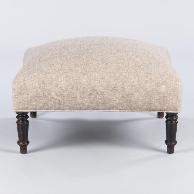 Late 1800s French Napoleon III Ottoman For Sale - Image 10 of 10