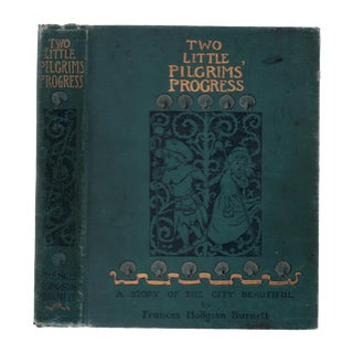 "1895 ""First Edition, Two Little Pilgrims' Progress"" Collectible Book For Sale"