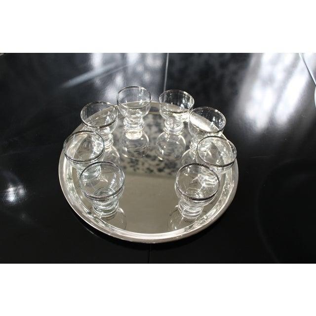Mid-Century Modern Transparent Martini Set - Set of 12 For Sale - Image 3 of 3