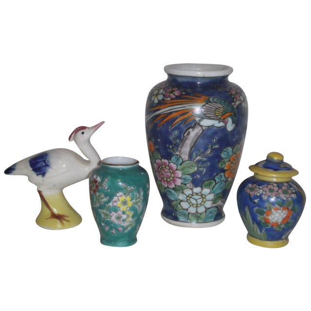 Curio Collection 1920's Japanese Ceramics - Image 1 of 7