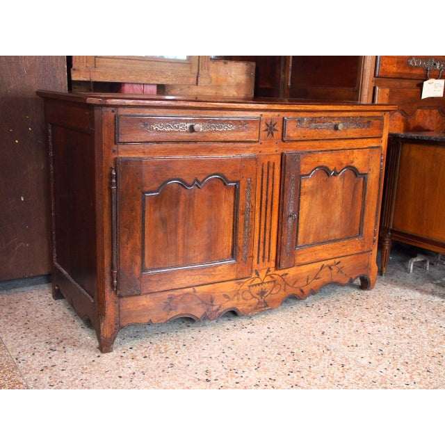 Mid 18th Century Louis XV Epoch Buffet For Sale - Image 9 of 9