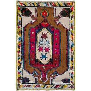 "Vintage Persian Hamadan Rug – Size: 2' 5"" X 3' 7"" For Sale"