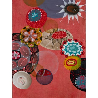 """Sea Garden #3"" Contemporary Abstract Oil Painting by Melinda Hackett"