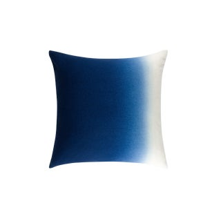 100% Baby Alpaca Dip Dyed Pillow Square For Sale