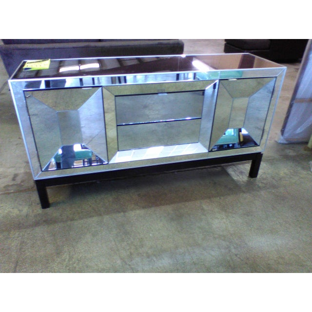 Art Deco Style Mirrored Cabinet/Sideboard - Image 2 of 7