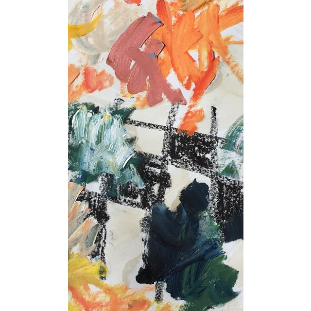 An explosive work full of texture and space by emerging artist Sean Kratzert. The movement of the rich oil paints contrast...