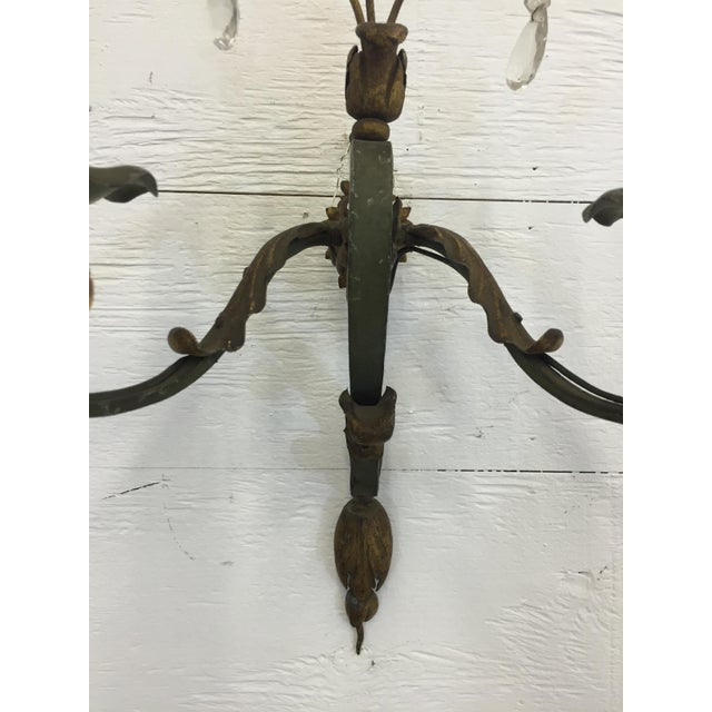 Antique French Sconces - a Pair For Sale - Image 4 of 5