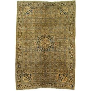 Late 19th Century Antique Persian Bidjar Rug - 4′6″ × 6′7″ For Sale