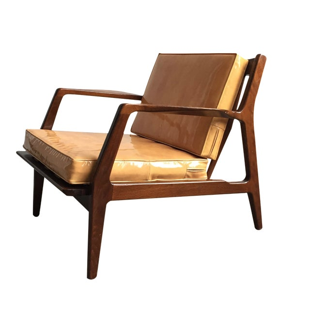 Ib Kofod Larsen for Selig Armchair - Image 1 of 7