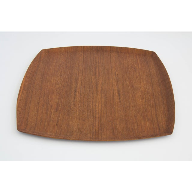 Molded Teak Serving Tray - Image 4 of 5