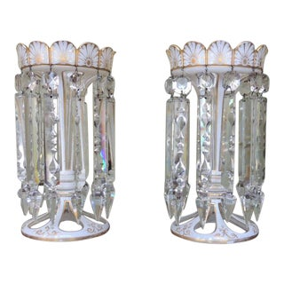 Early 19th C English Regency Crystal Lusters