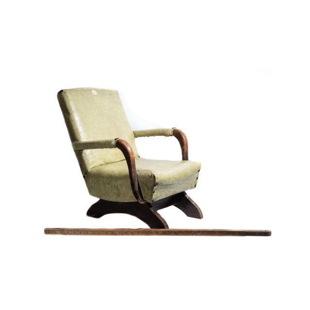 1930s 1930s Nursery Child Size Rocking Chair For Sale - Image 5 of 6