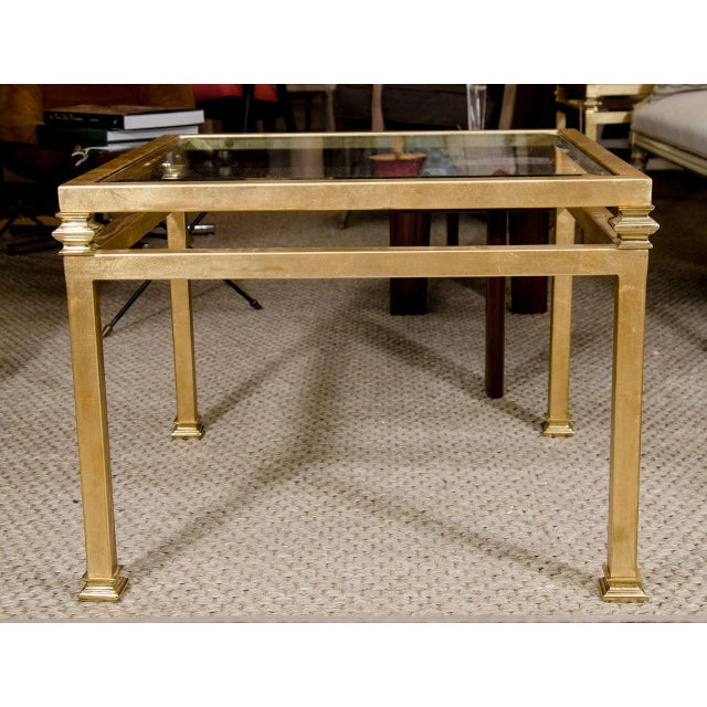 Pair of Gilt Iron Side Tables - Image 8 of 8