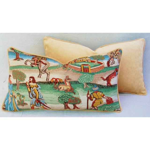 Designer Brunschwig & Fils Pillows - Pair - Image 7 of 8