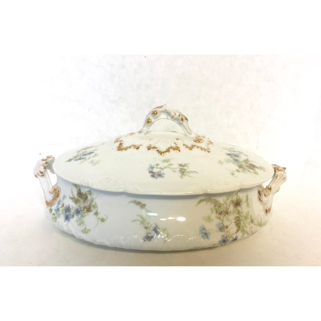 Antique Haviland Limoges Covered Serving Dish - Image 2 of 5