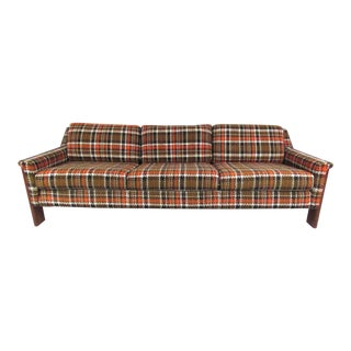 Mid-Century Modern Three-Seat Sofa in the Style of Adrian Pearsall For Sale