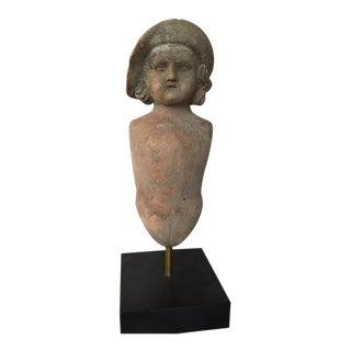 Vintage Ceramic Doll Form For Sale