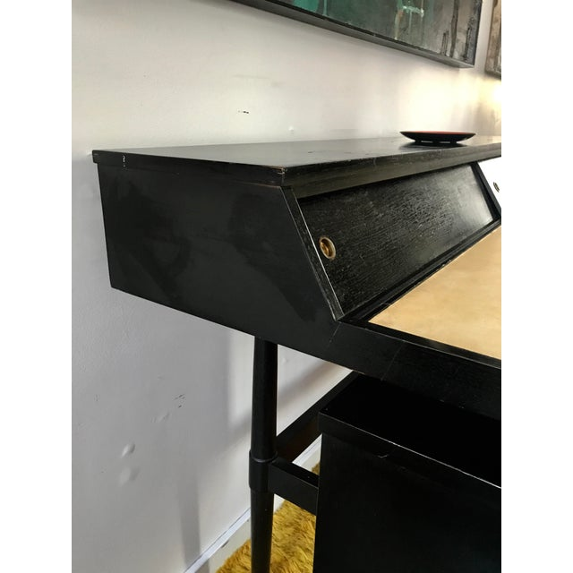 Mid Century Biscayne Floating Desk Edward Wormley for Drexel - Image 6 of 11