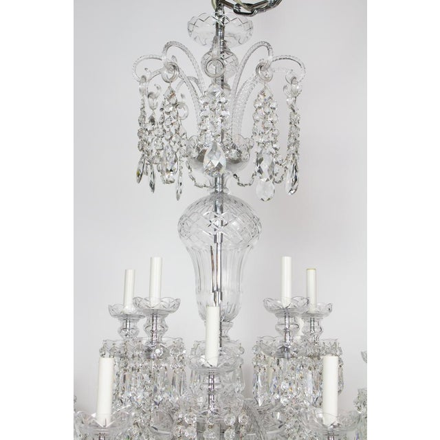 Early 21st Century Preciosa Czech Crystal Chandelier - Showroom Sample For Sale In Boston - Image 6 of 7