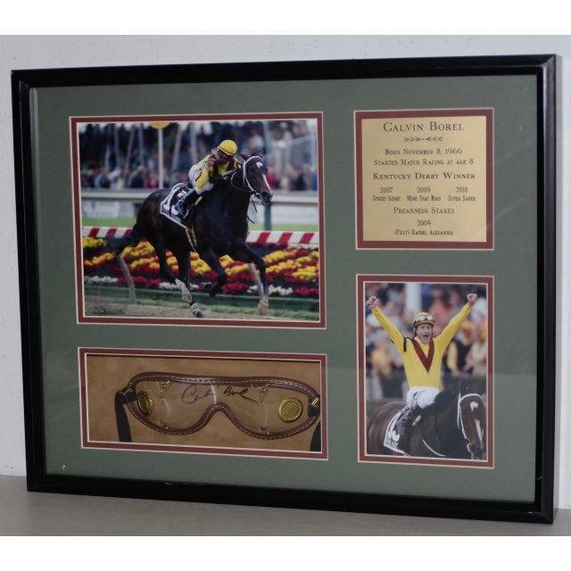 Calvin Borel Three Time Kentucky Derby Winner Signed Racing Memorabilia For Sale In San Francisco - Image 6 of 8