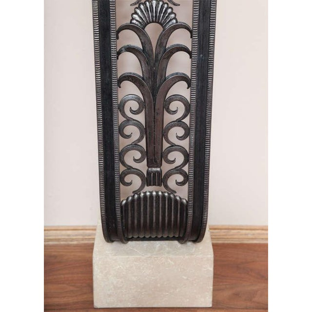 Modern Art Deco Style Console in the mannerof Brandt For Sale - Image 4 of 9