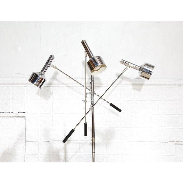 Modernist 3-Arm Floor Lamp - Image 3 of 10