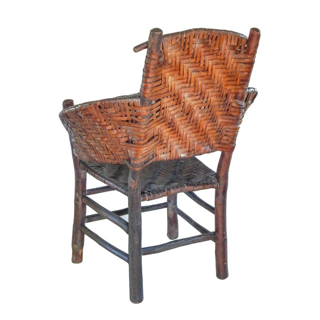 Old Hickory Furniture Co. Old Hickory Armchair For Sale - Image 4 of 10
