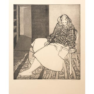 """Uma by the Numbers"" Original Print by Jacklyn Friedman"