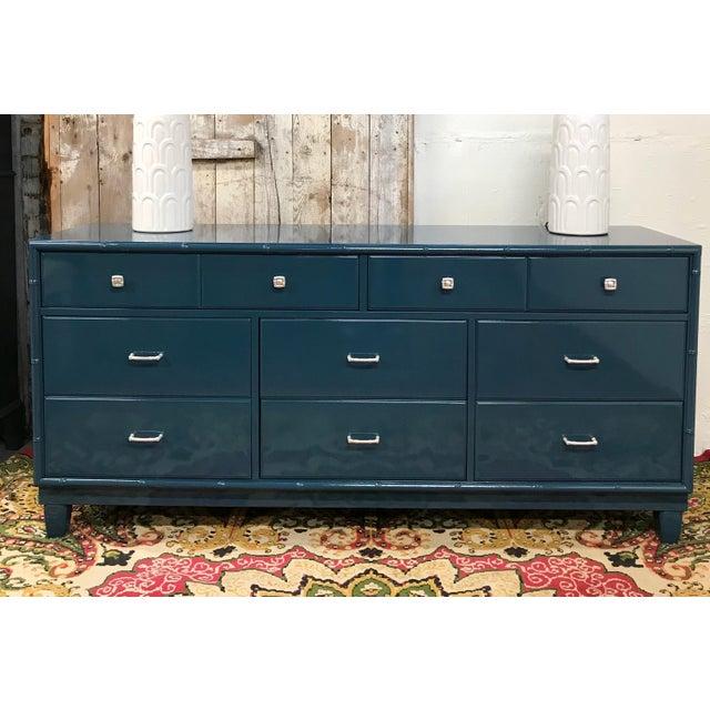 Blue Dresser | High Gloss Blue Dresser - Image 2 of 9