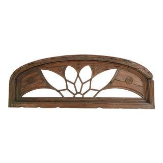 Antique Architectural Window Piece