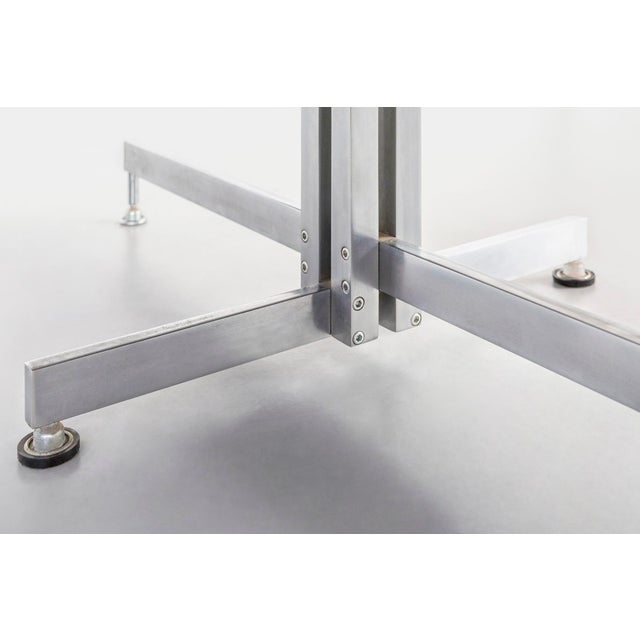 Chrome Hugh Acton Coffee Table For Sale - Image 7 of 8