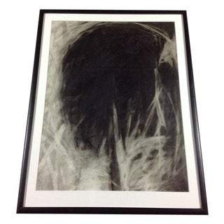 Original Charcoal Drawing - Was That