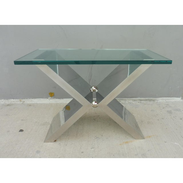 Contemporary J. Robert Scott High End Custom Made Exxus Table For Sale - Image 10 of 10