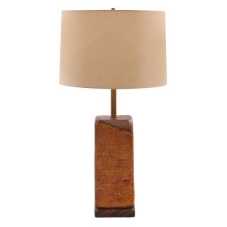 Marcello Fantoni for Raymor Ceramic Lamp For Sale