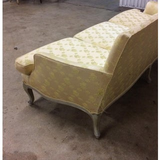 French Country Old Green Painted 3 Seat Sofa Preview