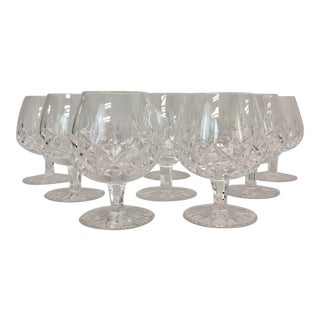 Waterford Crystal Brandy Glasses - Set of 8 For Sale