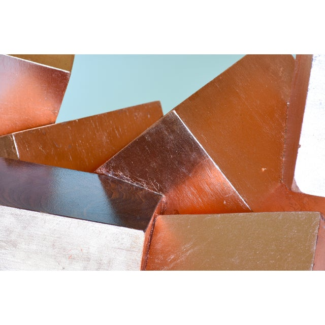 Copper and Mahogany Pyrite Sculpture For Sale - Image 11 of 13