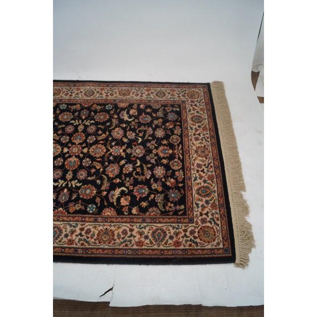 "Vintage Karastan Black Kashan Rug - 4'4"" X 6'10"" - Image 2 of 10"