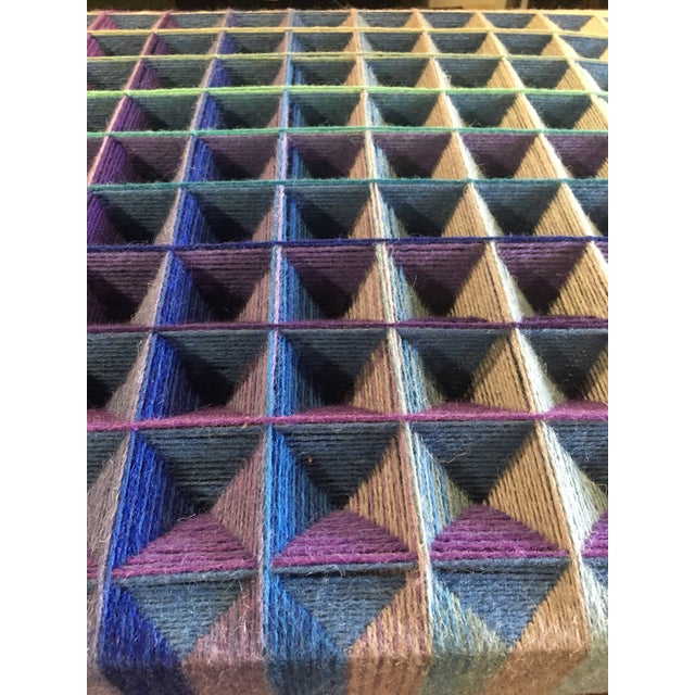1990s Dora Hsiung Woven Sculpture For Sale - Image 9 of 11