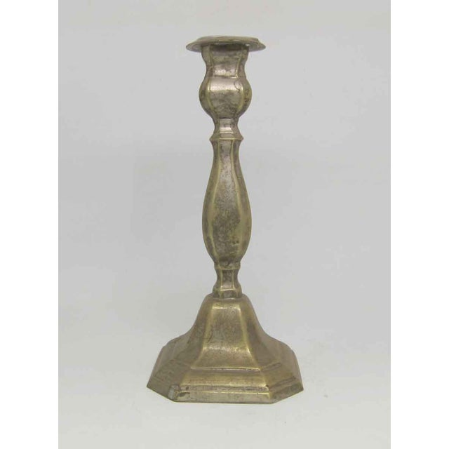 Silver Plated Candlestick Holder
