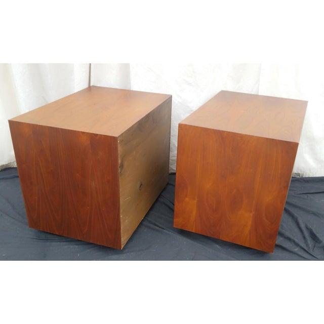 Glenn of California 1970's Mid-Century Modern John Kapel for Glenn of California Side Tables/Nightstands - a Pair For Sale - Image 4 of 11