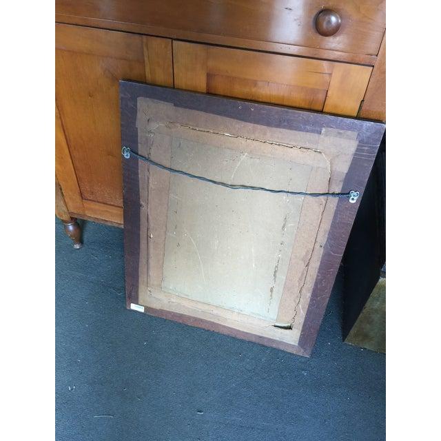 Antique Hand Carved Frame Art Nouveau For Sale - Image 5 of 6