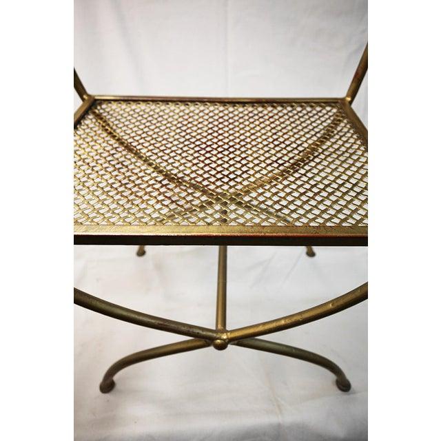 Vintage Italian Rope & Tassel Footstool - Image 2 of 4