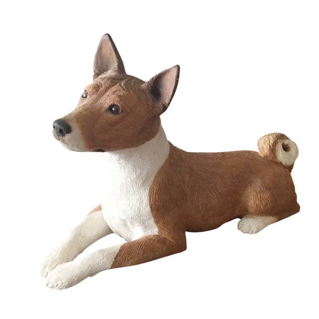 Basenji Dog Statue - Image 1 of 10