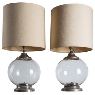 Set of Two Italian Table lamps For Sale