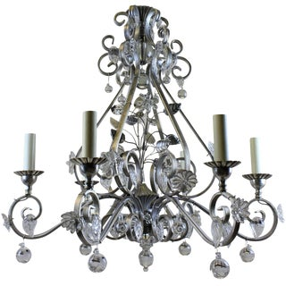 1960's Bagues Style Chandelier