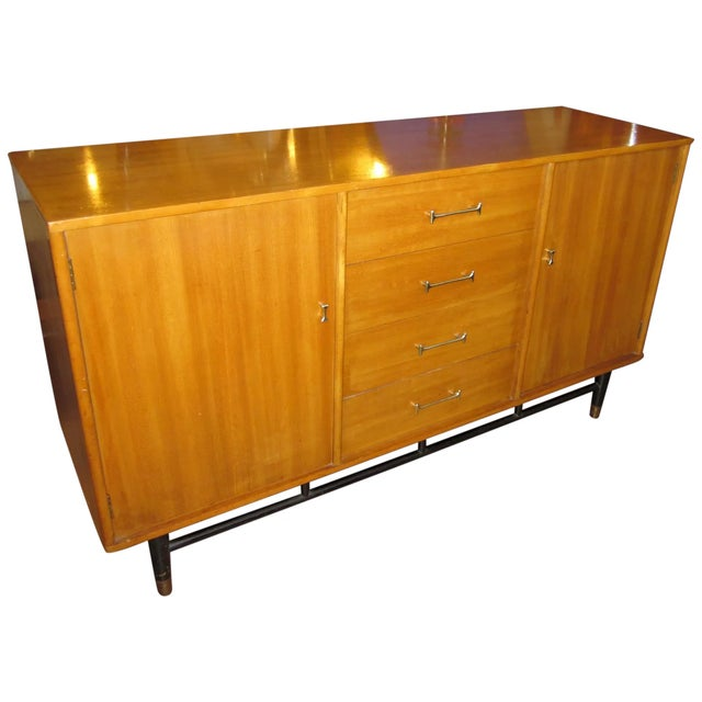 1960s Mid Century Milo Baughman for Drexel Credenza For Sale - Image 9 of 10