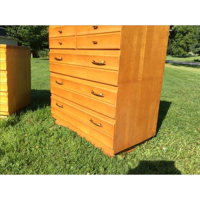 Kling Furniture Co. Kling Mid-Century Maple Dresser For Sale - Image 4 of 5